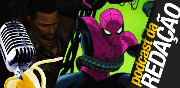 Podcast da Redação #19 – VGA 2012 e a vida sofrida do Homem-Aranha