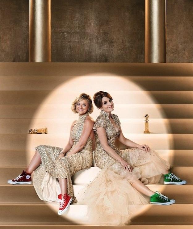 Globo de Ouro Tina Fey Amy Poehler