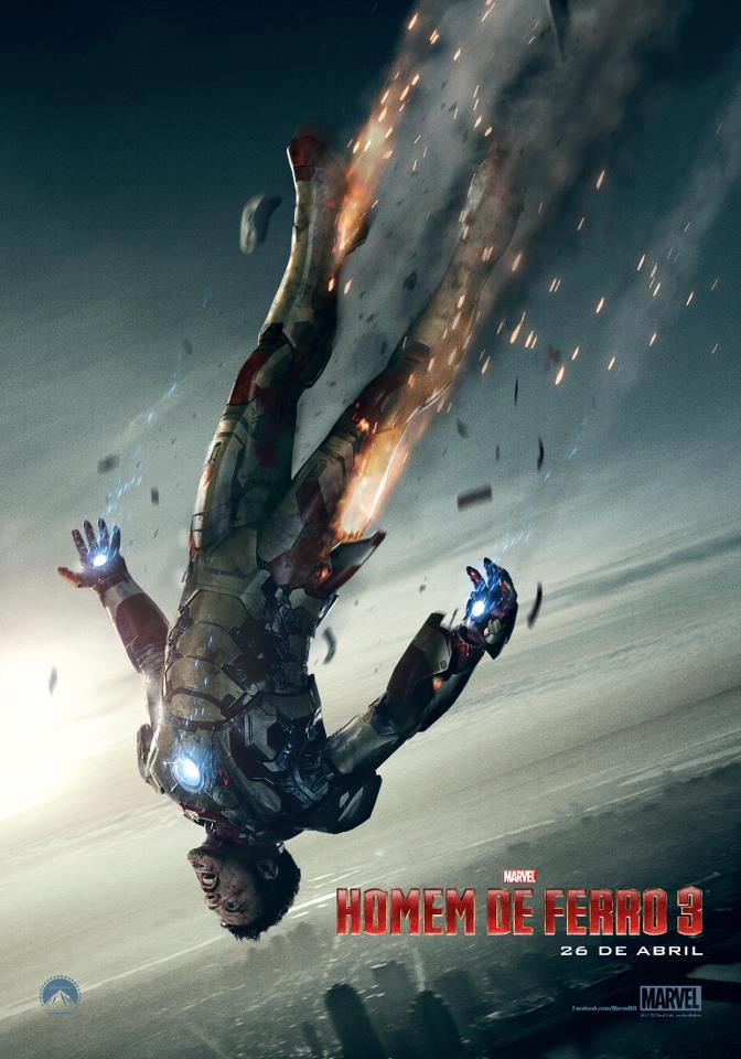 Homem de Ferro 3 Poster Novo
