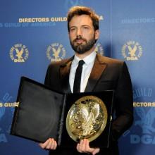 Ben Affleck leva o DGA 2013 por Argo