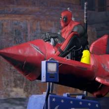 Muitas imagens do jogo solo do Deadpool
