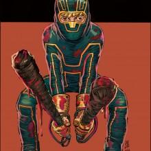 Primeira arte de Kick-Ass 3 é divulgada