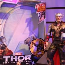 Brinquedos de Thor 2, Homem de Ferro 3, Círculo de Fogo, Homem de Aço e outros