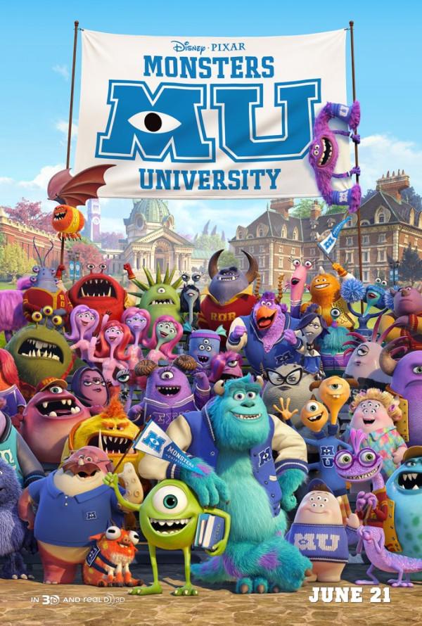 Universidade dos Monstros Poster
