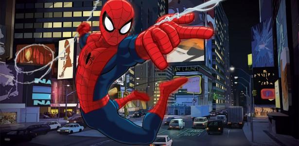Ultimate Homem-Aranha Desenho