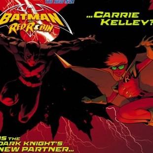 Carrie Kelley estreia em Os Novos 52 – e a DC cancela Batman Inc.