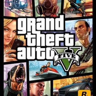 Eis a capa de GTA V
