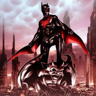 Participação especial do Batman do Futuro em Batman #20