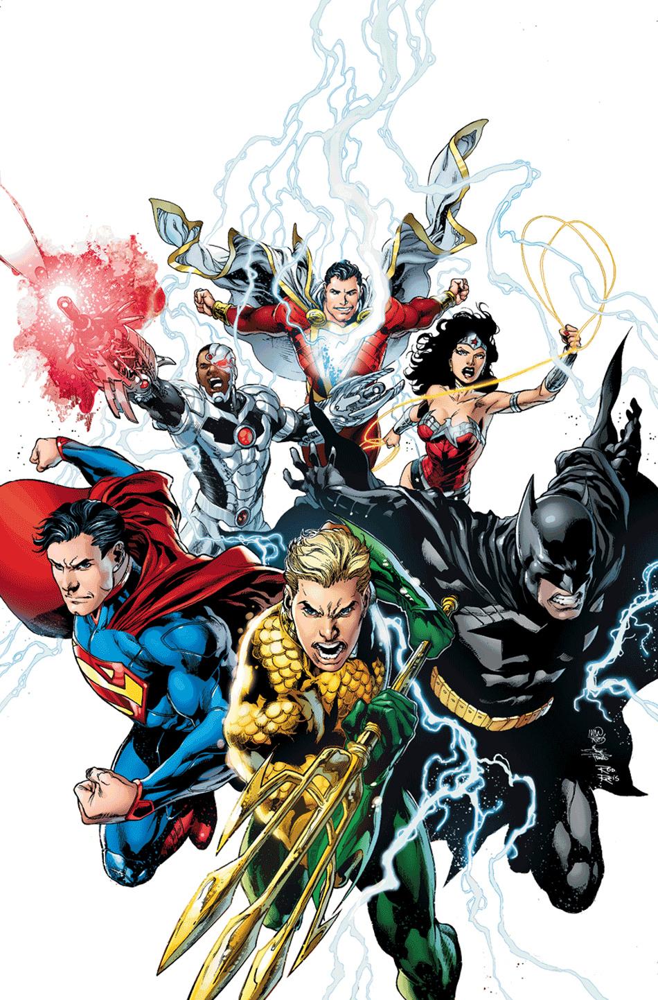 Justice League Ivan Reis