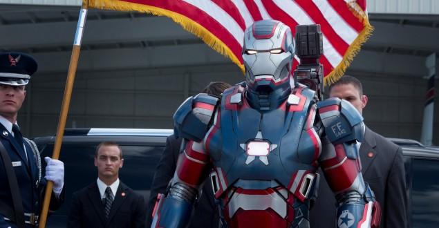 Patriota de Ferro Homem de Ferro 3