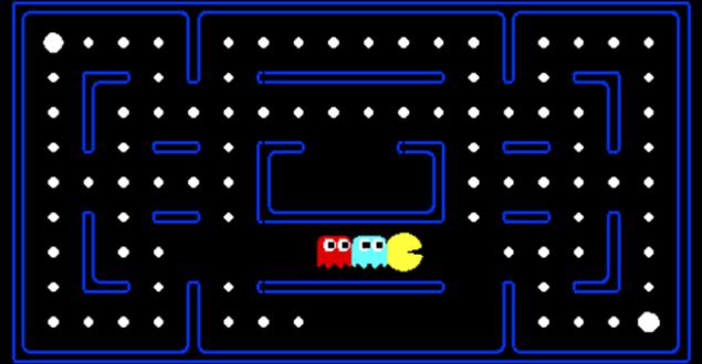Pac-Man e suas fases;