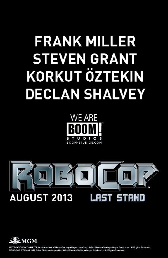 robocop last stand