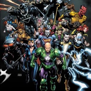 Mês dos Vilões da DC terá capas em 3D – veja alguns dos títulos