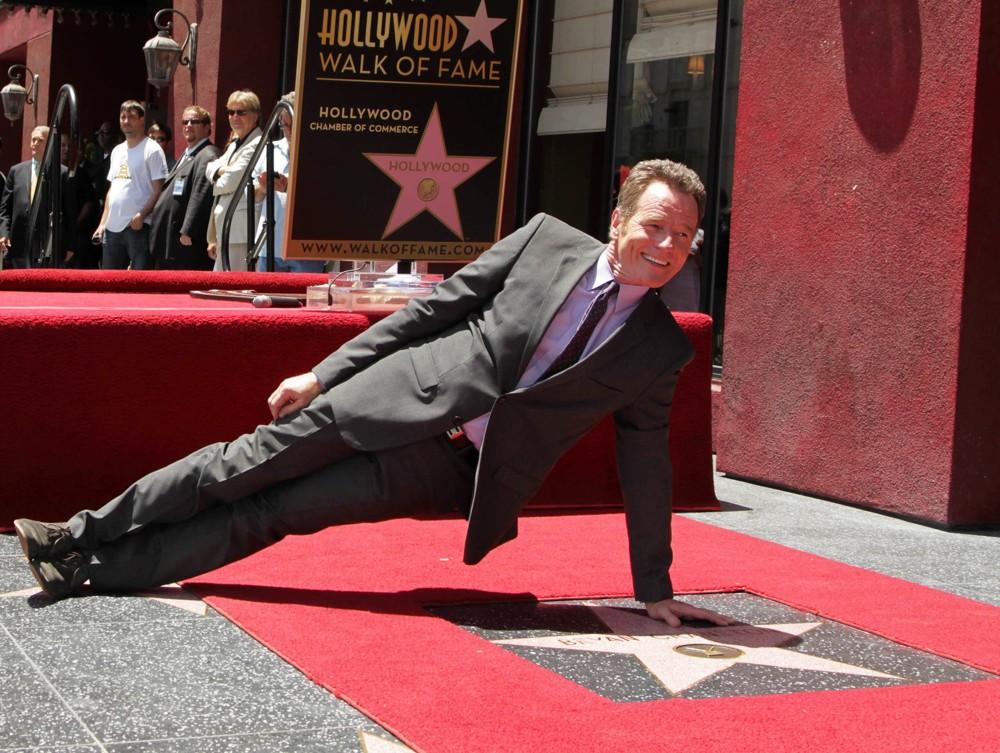 Bryan Cranston Walk of Fame