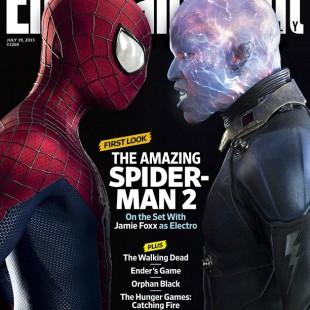 Essa deve ser a primeira imagem OFICIAL do Electro no novo filme do Homem-Aranha