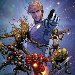 Marvel pensa numa animação de Os Guardiões da Galáxia