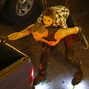 Veja Mila Kunis e Channing Tatum nos sets de Jupiter Ascending, dos Irmãos Wachowski