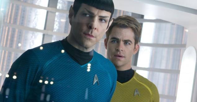Star Trek Spock e Kirk