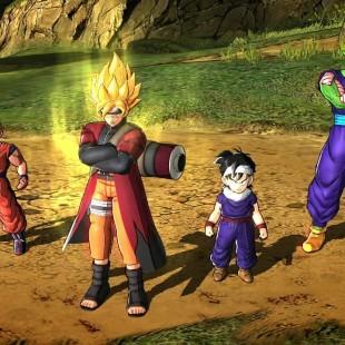 Novo game de Dragon Ball Z terá personagens do novo filme e roupa do Naruto