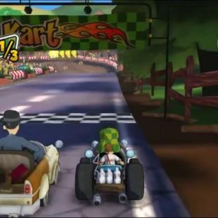 Televisa anuncia jogo de corrida de karts com o Chavez