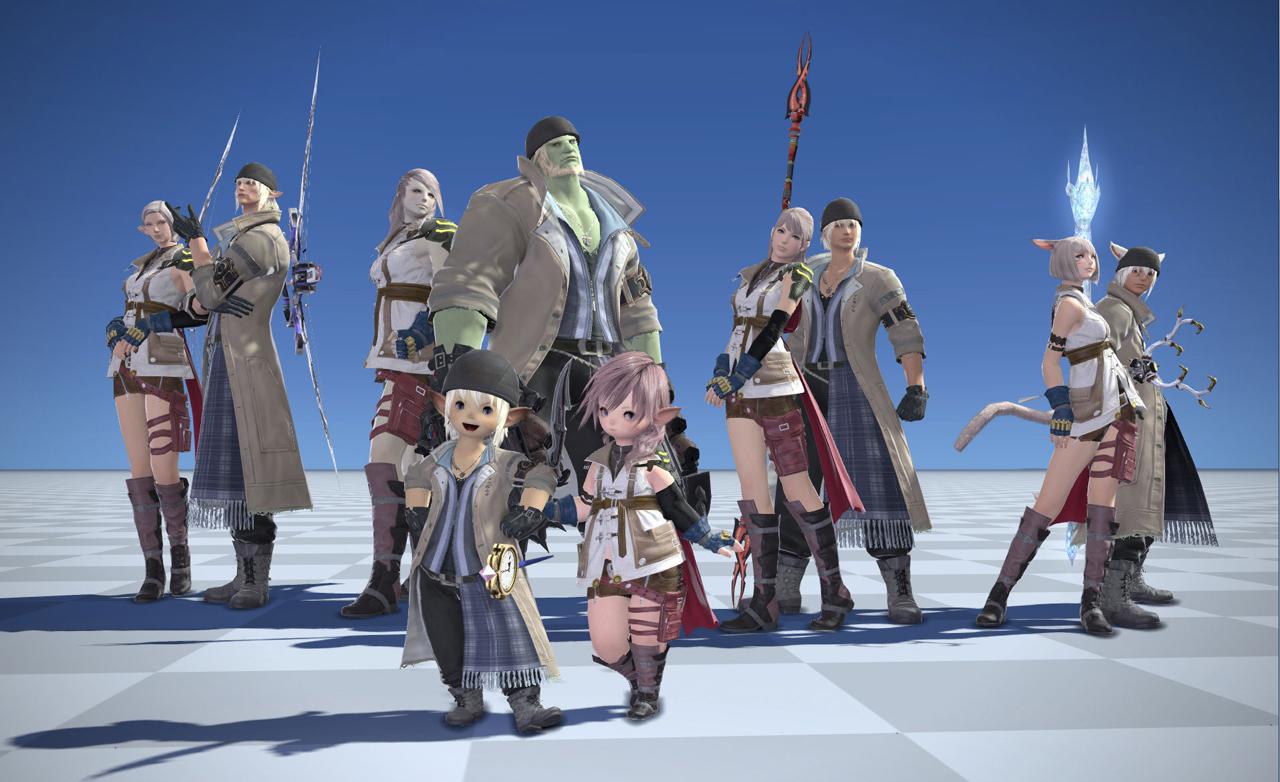 Lightning Final Fantasy XIV 00