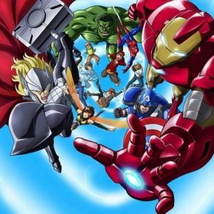 Marvel anuncia anime dos Vingadores!
