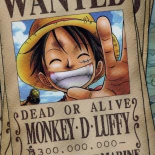 One Piece chega à marca de 300 milhões de mangás impressos no Japão!