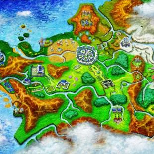 Eis um belo mapa para saber que Pokémon está disponível em cada rota de Pokémon X e Y