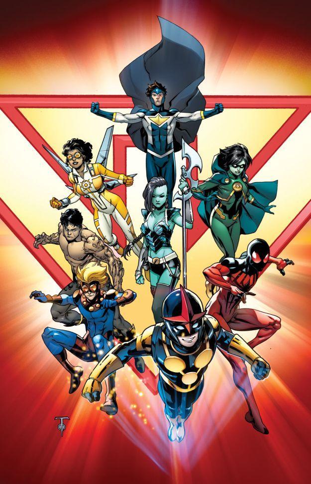 NYCC Marvel Novos Guerreiros