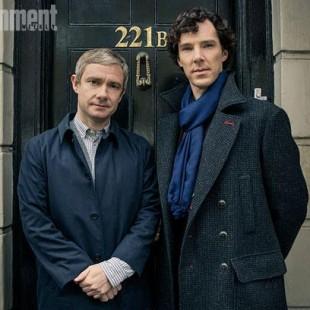 Terceira temporada de Sherlock já tem data para estrear