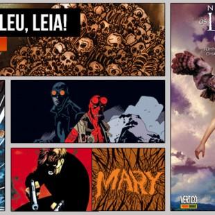 Pipoca e Nanquim | Videocast #174 – Se Não Leu, Leia! #11