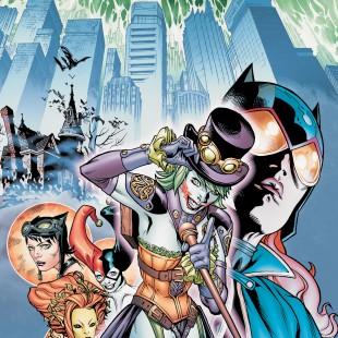 DC lançará revistas com capas temáticas de steampunk em Fevereiro de 2014