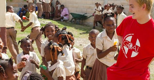 Gleeson no Haiti