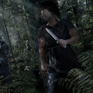 E esse trailer do jogo do Rambo?