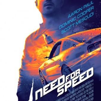 Esse é o pôster do filme de Need for Speed
