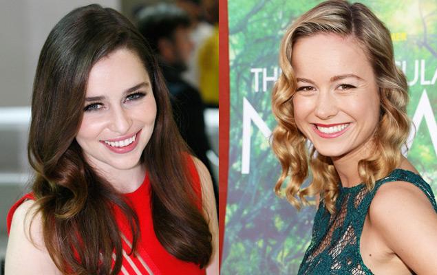 Emilia Clarke e Brie Larson