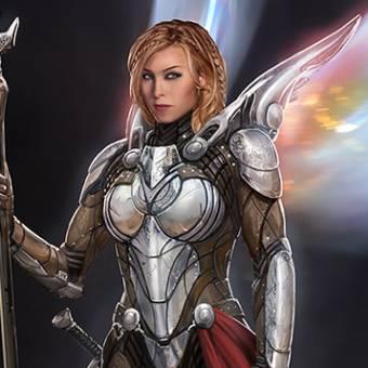 Artes conceituais de Thor: O Mundo Sombrio incluem a Valquíria e outros aliens