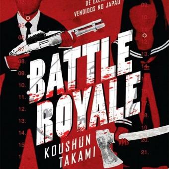 Veja a capa da versão nacional do livro Battle Royale
