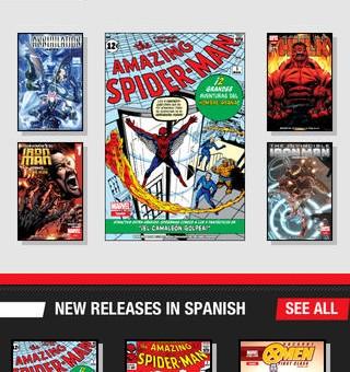 Marvel Global Comics vai vender HQs digitais em português!