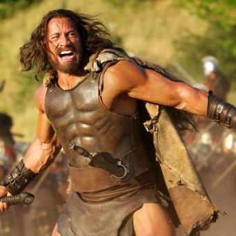 Essas são as primeiras imagens do filme do Hercules com o The Rock