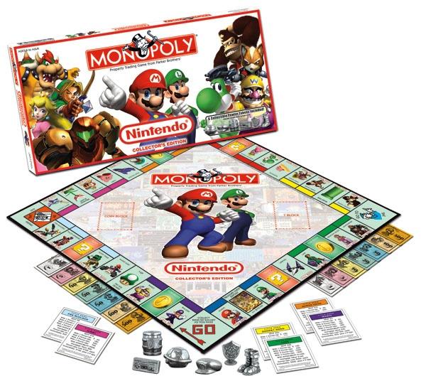 Já existe um Nintendo Monopoly