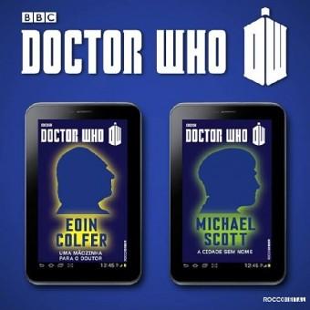 Rocco começará a publicar os ebooks de Doctor Who na semana que vem
