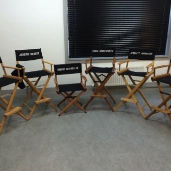 Robert Downey Jr. e Mark Ruffalo postam fotos de Avengers: Age of Ultron no twitter