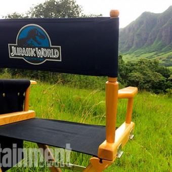 Hey, essas são as primeiras imagens dos bastidores de Jurassic World