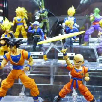 Evento de colecionáveis da Bandai estará disponível na Comic Con Experience