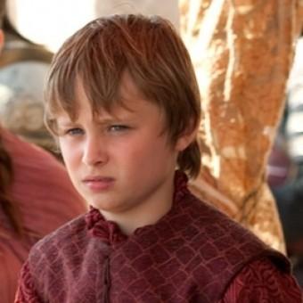 Tommen, fruto do incesto de Cersei e Jaime