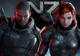 BioWare divulga os nomes mais usados no Comandante Shepard na trilogia Mass Effect