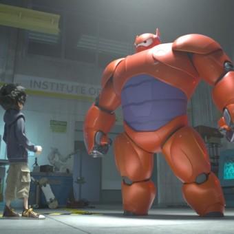 Saem as primeiras imagens da animação da Disney com personagens da Marvel