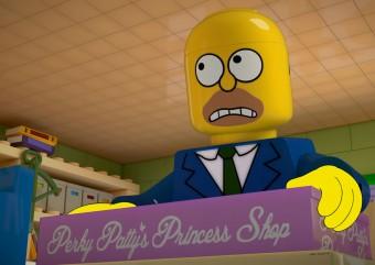 Episódio em LEGO de Os Simpsons ganha trailer