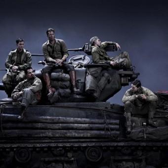 Fury, filme de guerra com Brad Pitt, ganha seu primeiro trailer